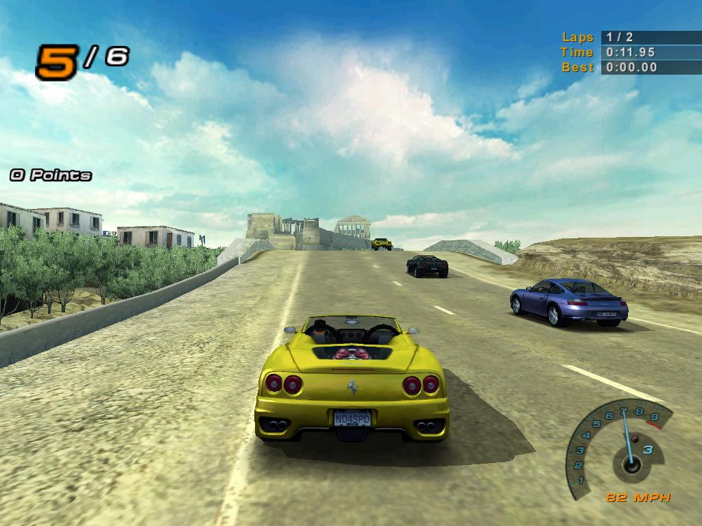 NEED FOR SPEED HOT PURSUIT 2 (PLAYSTATION 2) - ROBSON.PL